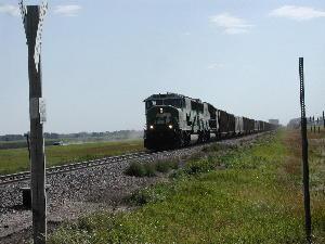 Glen races train
