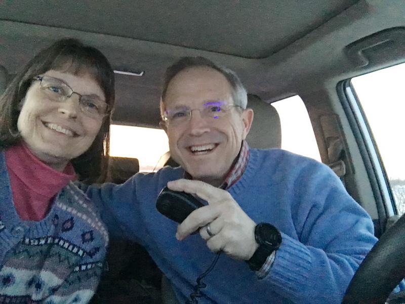 Janice KA9VVQ and Bruce W9FZ